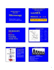 MICROSCOPY Online Power Point