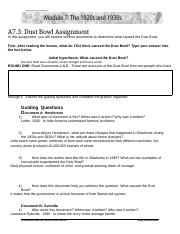 M7A3 Dust Bowl Answer Sheet.docx