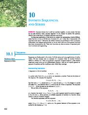 10. Infinite Sequences and Series