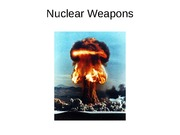 Nuclear weapons
