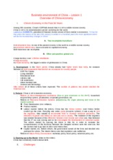 Business environment of China – Lesson 1.docx
