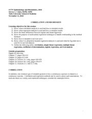 Epidemiology and Biostatistics Lecture Notes  14