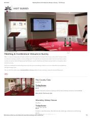 Venue-Meeting Rooms & Conference Venues in Surrey - Visit Surrey.pdf