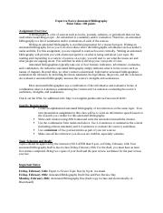 Annotated Bibliography Assignment Specifications.docx