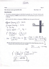 College Physics Transition Waves quiz 3 solutions