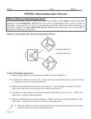 Intermolecular Forces POGIL.docx - Name Katie Stanley Date ...