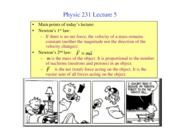PHY231 lecture5