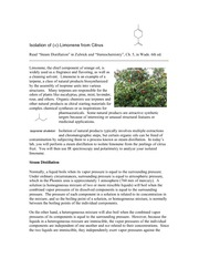 Isolation of Limonene from Citrus_rev1