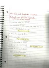 MAT 1033 Radicals and Quadratics 2