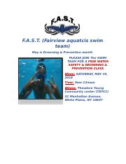 FAST Swim Team Drowning & Prevention Flyer.docx