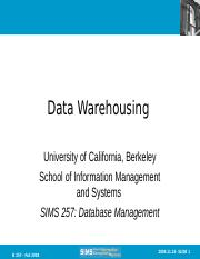 Topic 4 - Data Warehouse.ppt