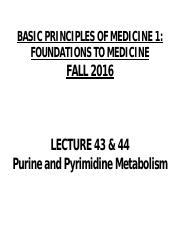 FTM Lecture 42 Clinical Enzymology