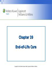 PPT_Chapter_39_End of Life_Student Copy.pptx