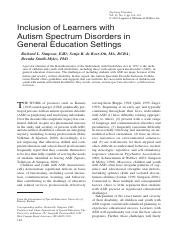 Inclusion of Learners with Autism Spectrum Disorders in General Education Settings.pdf