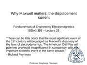 EENG386_Lecture25_Maxwell_displacementCurrent