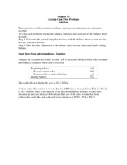 Lecture Problem Solutions CH 13 (all)