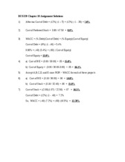 BUS_320_Chapter_10_Assignment_Solutions