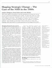 P Pettigrew et al 1992_Shaping strategic change the case of the NHS in the late 1980s.pdf