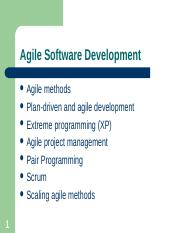 Chapter 3 - Agile Software Development