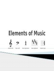 LESSON 6 - Elements of Music (2)