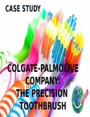 marketing objectives of precision toothbrush Check out our top free essays on colgate palmolive case study the precision toothbrush to help you write your own essay.