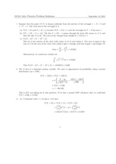 PSTAT 120A Final Practice Questions Solutions