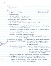 Lecture Note - Mineral Resources and Rocks
