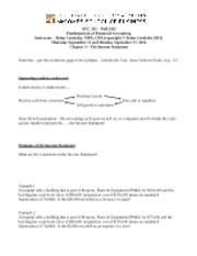 Fall 2012 - Chap 3 class notes - student copy