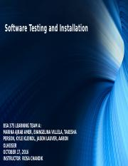 Software Testing and Installation.pptx