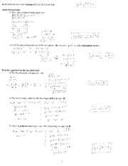 MTH 110 Practice Test 4 Solutions on Statistics and Probability