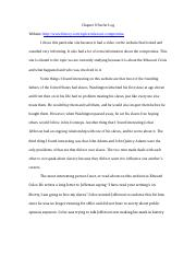 Chapter 8 Surfer Log .docx