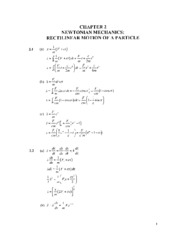 analytic mechanics 7E ch2
