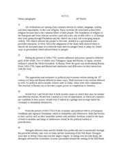 Thesis Statements 4-27-11