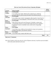 End_of_Life_Planning_Essay_Grading_Rubric