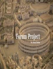 Forum Project 1_17