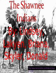 The shawnee Indians.ppt