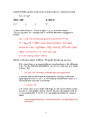 Practice Exam III Fall 2004 -- ANSWERS UPDATED