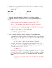 Practice Exam III Fall 2004 -- ANSWERS UPDATED
