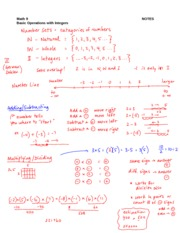 P3 Integer Operations Notes