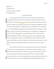 American lit essay # 2 corrected