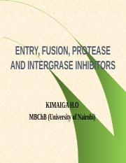 17. ENTRY, FUSION, PROTEASE AND INTERGRASE INHIBITORS.pptx