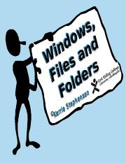 Windows and File Management
