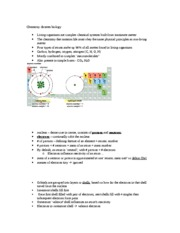 Unit 2a Intro to Cellular Chemistry