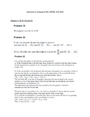 Solutions to Homework-2