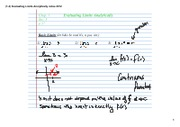 1-3 Evaluating Limits Analytically Notes