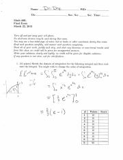 Final Exam Solutions-2013