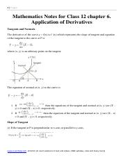 Mathematics Notes and Formula for Class 12 chapter 5  Continuity and