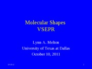 10-10-11-Shapes-VSEPR