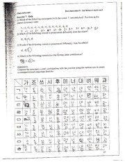Korean Alphabet quiz