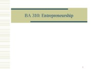 3-7. Entrepreneurship
